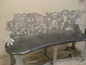 bench_custom_fabricated_metal_stone_1