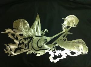 Custom Steel Wall Art