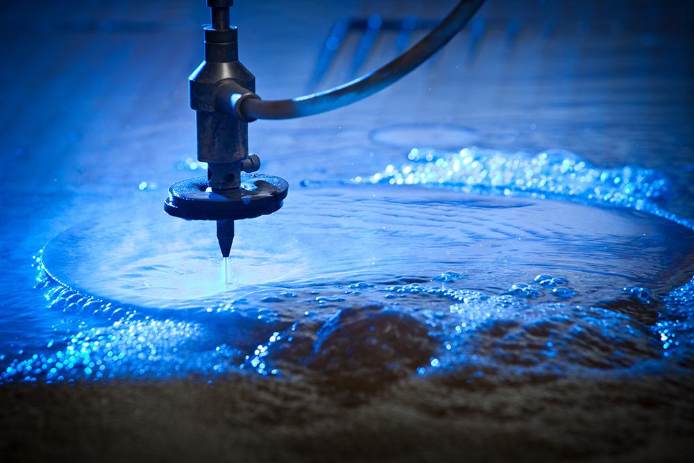 CNC Waterjet Cutting Machine Detail – Double R Manufacturing