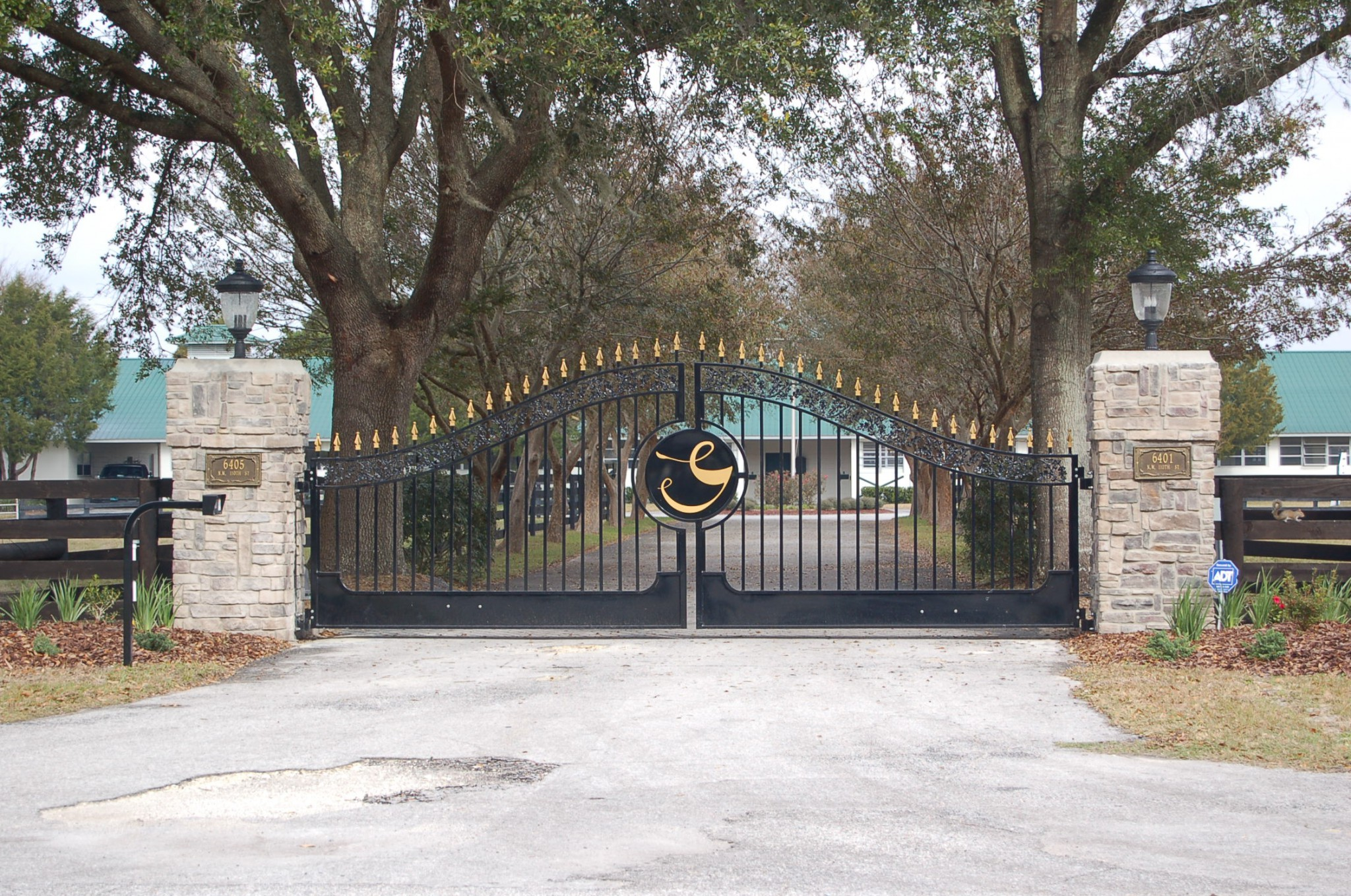 Customized Entry Gate