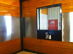 Custom Fabricated Barn Stall Window Bars