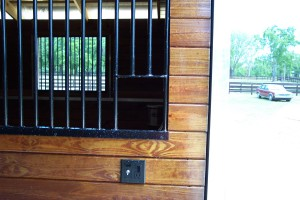 Custom Fabricated Barn Stall Bars and Window