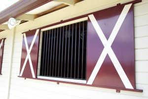 Custom Fabricated Stall Shutters and Bars